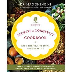Dr. Mao's Secrets of Longevity Cookbook: Eat to Thrive, Live Long, and Be Healthy >>> Check this awesome product by going to the link at the image.