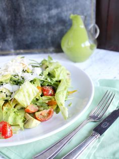 Vapianosalat mit Rucola Dressing - KüchenDeern