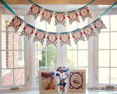 how to decorate with party printables - easy and inexpensive decorating tips for kids birthdays