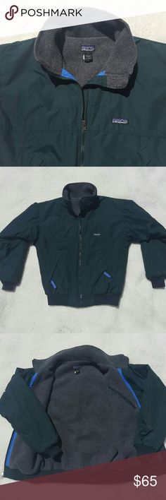 Patagonia men's vintage jacket Vintage Patagonia full zip winter jacket. Used but in Exelent Condition. No stains or holes. Jacket is fleece-insulated  100% Nylon Patagonia Jackets & Coats