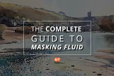 There are so many masked heroes. Batman, Zorro, Masking Fluid. This is an ULTIMATE video guide from Rob Dudley showing you how to use this versatile tool for watercolour painting.