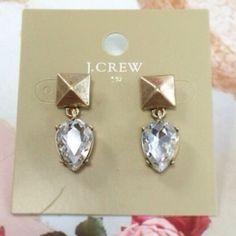 J. Crew Teardrop Earrings New never worn j crew earrings J. Crew Jewelry Earrings