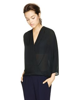 BABATON GRIFFIN BLOUSE - Effortless sophistication spun from heavyweight silk georgette