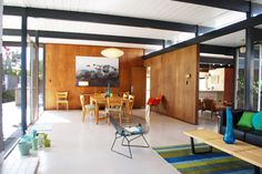 Interior of a Eichler home, love it!