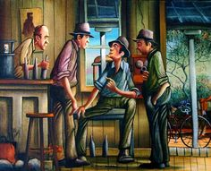 Man Shed, Mans World, Australian Artists, Paintings For Sale, Studios, Illustration Art, Posters, Gallery, Artwork