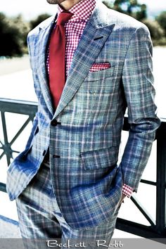 Rob Grace Style beckettrobb: Custom menswear by Beckett & Robb Gentleman Mode, Gentleman Style, Sharp Dressed Man, Well Dressed Men, Suit Fashion, Mens Fashion, Daily Fashion, Looks Style, My Style