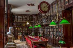 Las biblioteca más bonitas de Madrid - Biblioteca de la Real Academia Nacional de Medicina