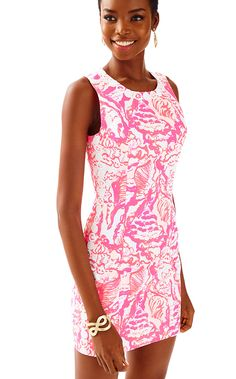 c19516613fb Lilly Pulitzer Womens Mila Shift Dress Summer Dresses For Women