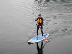 Stand Up Paddle Board, Glacier Bay, Alaska SUP Alaska, John Quam