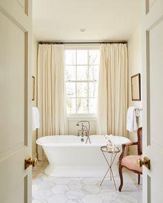 Master bath>> @ashleygilbreathinteriordesign