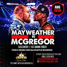 Top Flyer designs of the day!!!! MayWeather Vs McGregor Flyer Designed by graphixfly For more info please contact Web: www.graphixfly.com | Email: graphixfly@gmail.com Turn Around Time 1 day #graphixfly #Flyer #LoungeFlyer #ClubFlyer #TakeOver #Hiphop #rap #party #lounge #NightOutParty #LadiesNight #CocktailParty #BdayFlyer #NightClubs #OfficialParty #AfterParty #MixtapeParty #djs #AfterParty  #HiphopMusic #R&B #BirthdayParty
