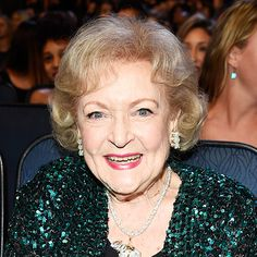 Betty White's Changing Looks - 2015-age 93  - from InStyle.com