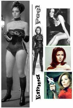 Diana Rigg as Mrs. Emma Peel in The Avengers