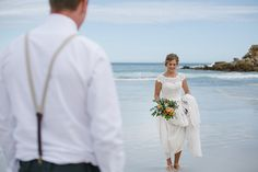Romantic DIY Beach Wedding   With Love & Lace