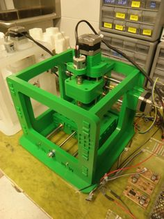 MTM Snap- MIT's Open-Source, snap-together, desktop CNC milling machine.  Want to build one!
