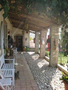 Italian farmhouse garden