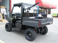 Awesome ATV with hand controls and wheelchair storage/lift