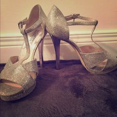 Michael Kors heels Perfect prom shoes! Only worn a couple times! MICHAEL Michael Kors Shoes Heels
