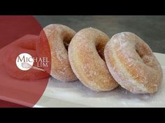 Donuts With Sugar Yummy Easy Snacks, Donut Recipes, Cooking Recipes, Suet Pudding, Bread Bun, Brioche Bread, Sugar Donut, Homemade Donuts, Great Desserts
