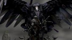 corbeau géant Wallpaper