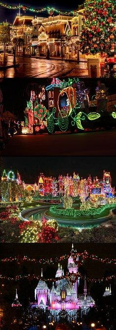 Spend Christmas at Disney World in Orlando, Florida, USA.