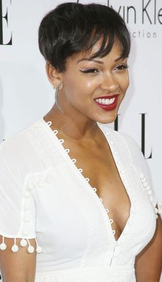 Pictures Of Short Haircuts for Black Women | http://www.short-haircut.com/pictures-of-short-haircuts-for-black-women.html