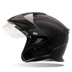 Bell Mag-9 Street Helmet, Street Helmet, Bell, Matte Black - Langston Motorsports