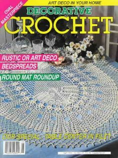 Decorative Crochet Magazines n° 21 - Rosio Llamas - Album Web Picasa