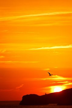 Basque sunrise by [bastian.] on Flickr.