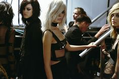 Behind the scenes at the very sultry Tom Ford Spring 2015 runway show