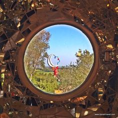 Tarot Garden by Niki de Saint Phalle, Capalbio, Tuscany, Italy  Read more here: http://www.blocal-travel.com/2014/09/two-italian-artistic-parks-perfect-to.html