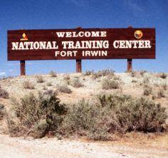 Fort Irwin, Ca