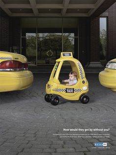 How would they get by without you? Cute life insurance ad. The Wertzberger Agency