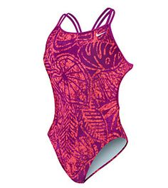 Nike Swim Batik Spider Back Tank