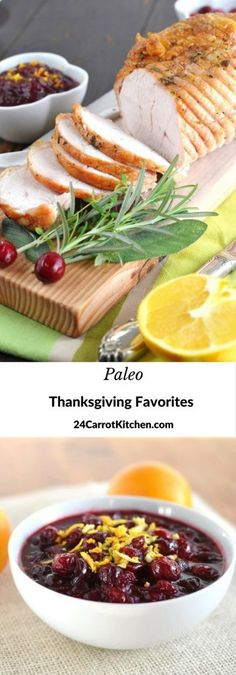 You will surely find some must make recipes from the list of Paleo Thanksgiving Favorites! Click link to get all the recipes! grain free, gluten free, dairy free, holiday, recipe, turkey,