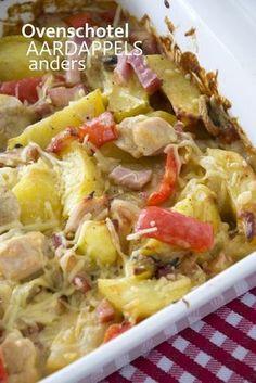 Ovenschotel aardappels anders