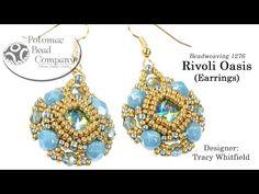 Rivoli Oasis Earrings Tutorial - YouTube