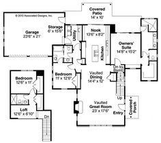 New House Plans on 2 bedroom starter home plans