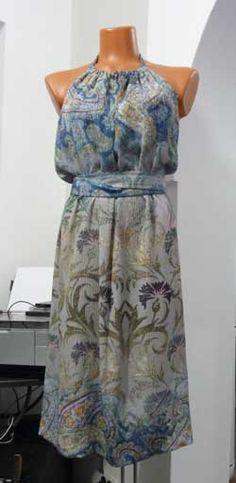 Платье-фартук. Идеи, выкройки - смотреть видео (видео)