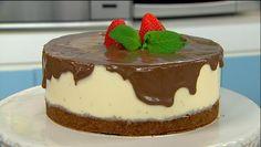 Torta de Morango com Chocolate | Receitas | Dia Dia