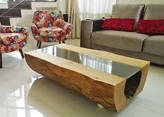 Resultado de imagem para mesa de centro de madeira rustica