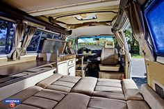 this is the interior of our Westy (colors vary slightly) - VW Westfalia 1985 Bus Camper, Vw Bus T3, Volkswagen Bus, Combi Wv, Vw Camping, T2 T3, Vw Vanagon, Van Design, Bus Life