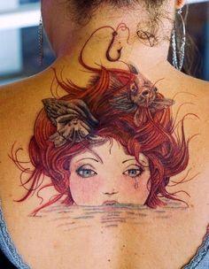 Beautiful - 45 wicked mermaid tattoos   Tattoodo.com