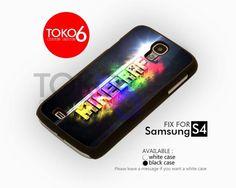 AJ 4209 Minecraft Colorfull Logo - Samsung Galaxy S IV Case   toko6 - Accessories on ArtFire