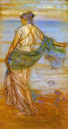 Annabel Lee,1890 - James McNeill Whistler