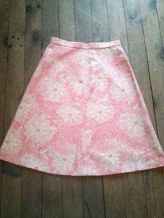 Vintage 60's Poppy Pink & Ivory High by JulesCristenVintage, $34.00