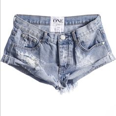 One teaspoon shorts Brand new never worn one teaspoon shorts. Size 25! One Teaspoon Shorts Jean Shorts