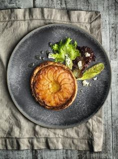 Garden beetroot and Roscoff onion tart