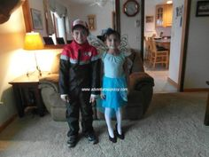 Trick or treating and Halloween party with my kids