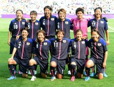 Olympic London 2012  Women's football  Nadeshiko Japan - Canada